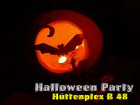 Halloween Party Hüttenplex B 48
