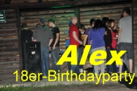 18er Birthdayparty von Alex