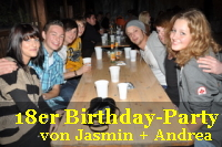 18er Birthdayparty von Jasmin + Andrea