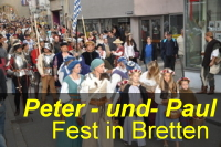 Peter-und-Paul Fest in Bretten