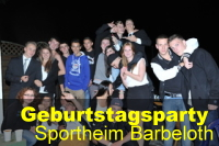 Geburtstagsparty Barbelroth