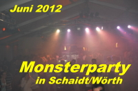 Monsterparty in Schaidt