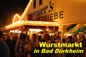 Wurstmarkt in Bad Dürkheim