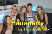 Hausparty bei FotoScout Maik