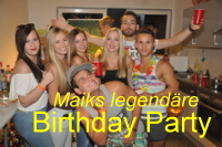 Maiks Birthday Party