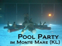 Pool Party im Monte Mare in Kaiserslautern