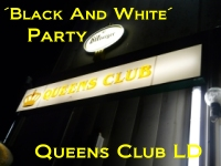 Black & White - Party im Queens Club Landau