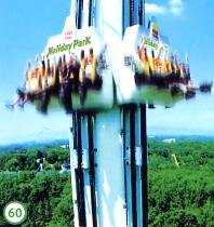 Holiday Park in Hassloch: Freefall Tower