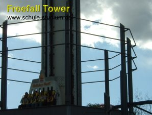 Holiday Park in Hassloch - Freefall Tower